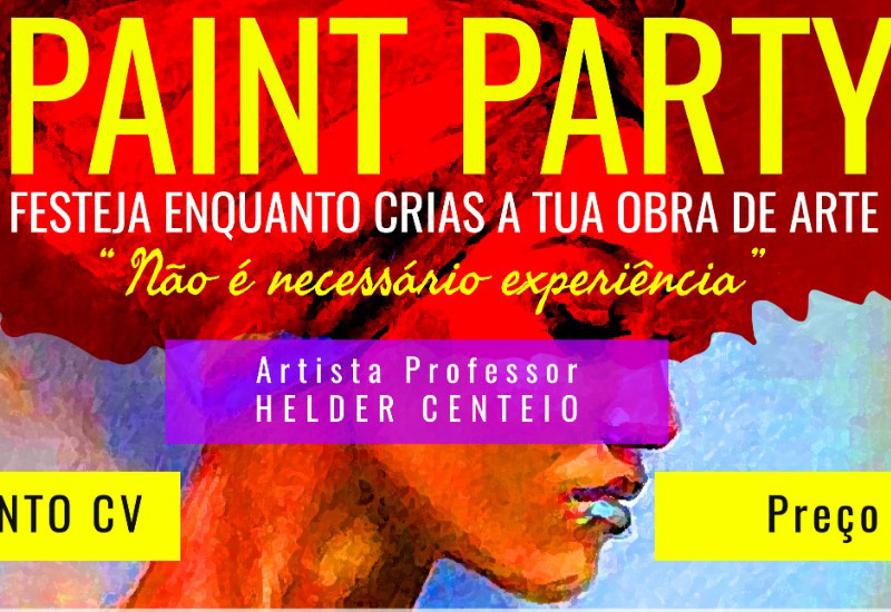 Ladies Paint Party, no Ponto CV